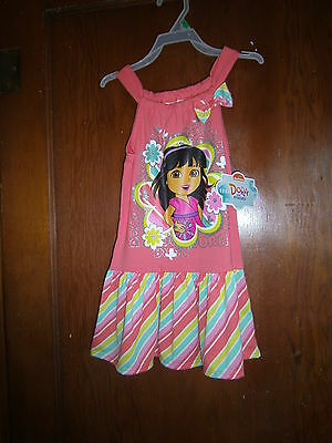 """New """"dora"""" Baby Girls Toddler Party Formal Holiday Dress Size 3T"""