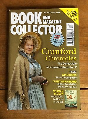 Book And Magazine Collector N°288 Dec 2007 Cranford Chronicles/christianna Brand