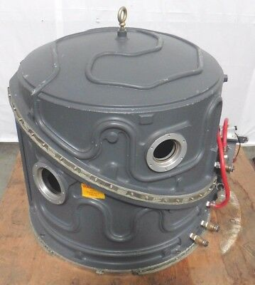 C118888 Applied Materials AMAT Water-Cooled Bell Jar Vacuum Chamber w/Hinged Lid