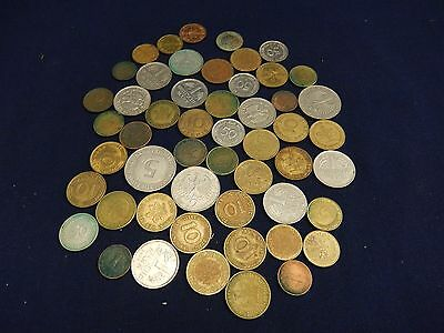 50+ Lot of German Deutsch Mark Coins Pfennig Money