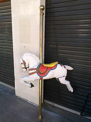 Carousel Horse Wooden old