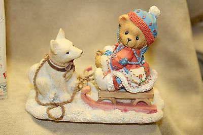 "CHERISHED TEDDIES 176028 ERICA ""friends are always pulling for you"". NEW"