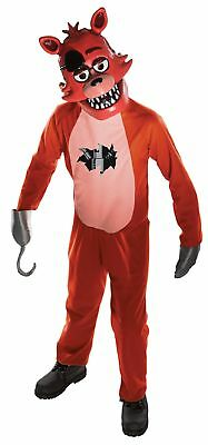 Foxy Child Costume Five Nights At Freddy's Jumpsuit Mitts and Mask FNAF Horror