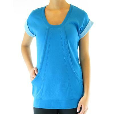 Ryka 6096 Womens Scoop Neck Semi Fitted Workout Pullover Top Athletic BHFO
