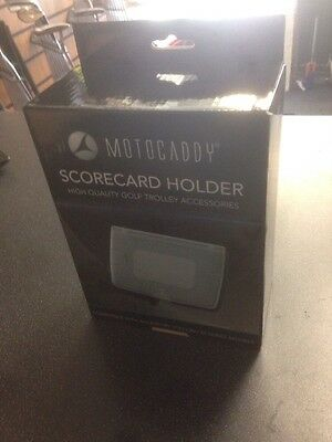 Motocaddy Golf Trolley Score Card Holder New