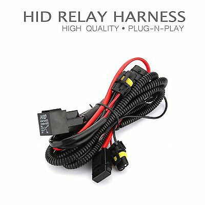 One Xentec HID Kit Relay Harness Anti-Flicker Power Wiring Universal Compatible