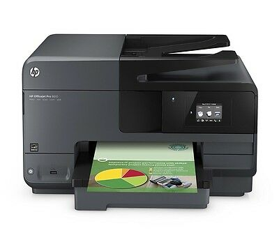 HP Officejet Pro 8610 All-in One Print Scan Fax Copy *VGWC* Mobile Printing*
