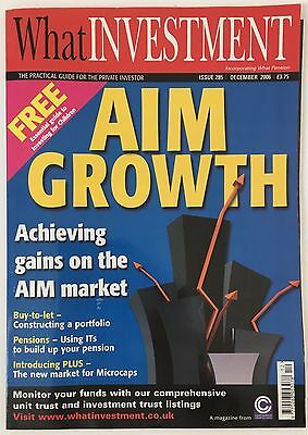 What Investment Magazine December 2006 Issue 285