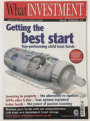 What Investment Magazine October 2006 Issue 283