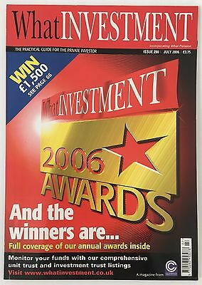 What Investment Magazine July 2006 Issue 280