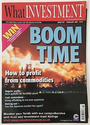 What Investment Magazine February 2007 Issue 287