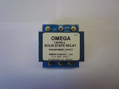 Omega Intrinsically Safe Relay - Latching SBG41705