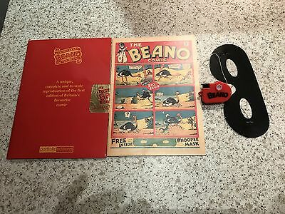 Golden Years Beano Reproduction Miniature First Edition Beano 1938 2003 Edition