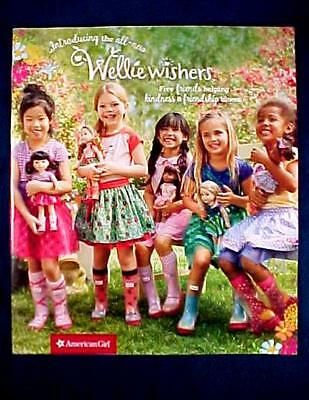 American Girl Doll Back Issue Catalog July 2016 - Wellie Wishers - Complete - NM
