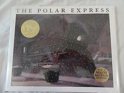 The Polar Express 1985 Hardcover book signed by Chris Van Allsburg