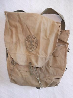 Vintage Boy Scout of America BSA Canvas Backpack New York City Council