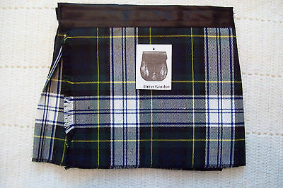 Dress Gordon Baby Kilt 4-12 month Scottish Plaid Tartan Christening Outfit?