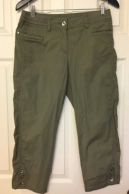 Chico's Women's Green Capri Pants Size 0 (S)