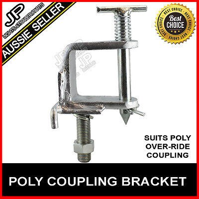 Off Road Car Adapter Bracket Suit Treg Or Trigg Style Poly Block Coupling Hitch