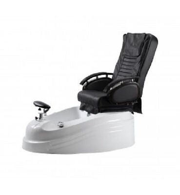 Electric Reclining Pedicure Spa Chair Foot Rest Healthtec Massage Shiatsu Beauty
