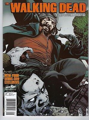 THE WALKING DEAD MAGAZINE # 6 2013 Titan Magazines NYCC Exclusive Cover