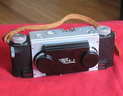 Stereo Realist 3D 35mm Stereo Camera with leather case David White Very Clean