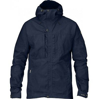 Fjallraven Skogso Mens Jacket Windproof - Dark Navy All Sizes
