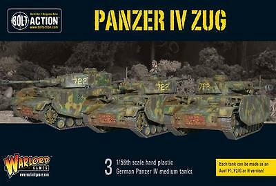 Warlord Games Bolt Action German WW2 Panzer IV Zug 28mm Scale Miniatures
