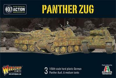 Warlord Games Bolt Action German WW2 Panther Zug 28mm Scale Miniatures