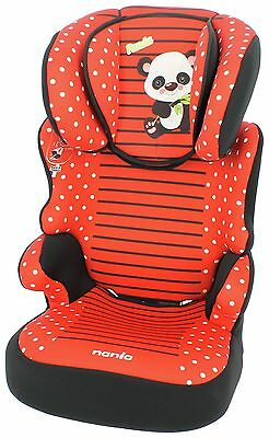 TT Befix SP Plus Panda Group 2-3 High back Booster Seat.