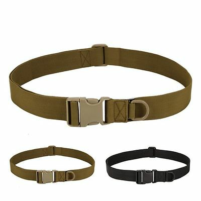 Adjustable Men Military Waistband Combat Belt Buckle Tactical Rescue Rigger Tool
