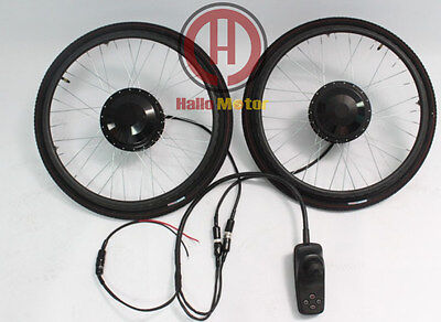 """24V 180W 24"""" Brushed and Geared Electric Wheelchair Conversion Kit e-wheelchair"""