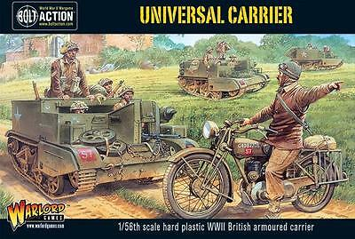Warlord Games Bolt Action British Universal Carrier 28mm Scale Miniatures