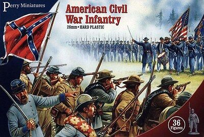 Perry Miniatures American Civil War Infantry 28mm Miniatures ACW1
