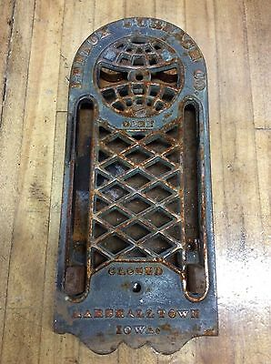 Lennox Furnace Company, Cast Iron - Steampunk -