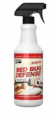 Bed Bug Defense Repellent Killer- By Exterminator's Choice- BedBug32oz All Na...