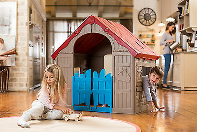 Cubby house Keter Foldable playhouse - RRP- $299 Sale - $128 Inc Free Delivery