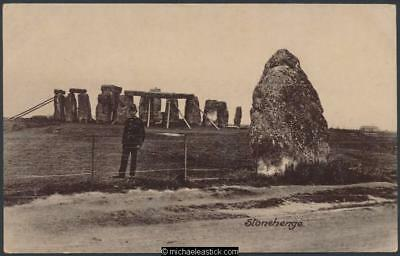 Stonehenge - early view of works