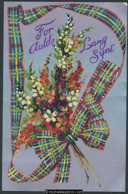 Tartan and Flowers and Auld Lang Syne