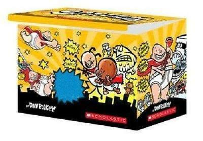 Captain Underpants (Set of 11 Books) by Dave Pilkey (FAST SHIP)
