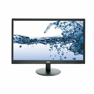 "AOC E2270SWDN 21.5"" LED LCD Computer Monitor 5MS Full HD 1080P 16:9 DVI VGA"