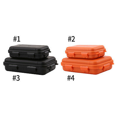 Waterproof Shockproof Sports Plastic Survival Container Storage Case  Box EB