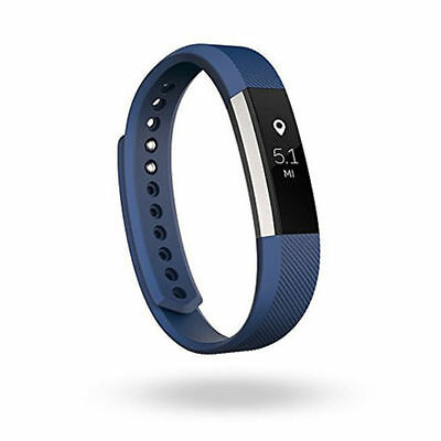 Fitbit Alta Fitness Activity Tracker, Size Large, Blue