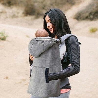 Baby Mum Soft Straps Sling Keep Warm Backpack Carrier Cover Cloak Winter