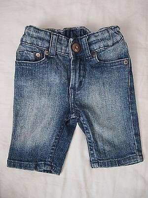 H&M Baby Boys Girls Denim Capri Jeans Size 12-18 Months