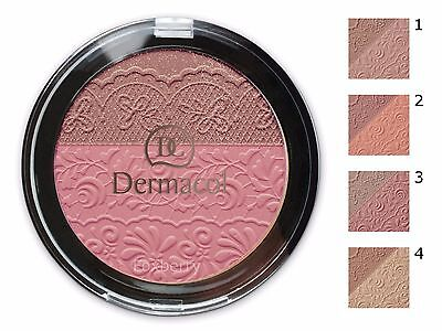 Dermacol Duo Blusher Two Shade Powder Dc Skin Sparkling Look Face New Original