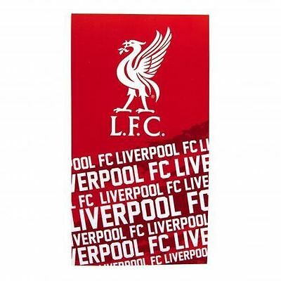 Liverpool F.C. Beach Bath Towel - Impact Design
