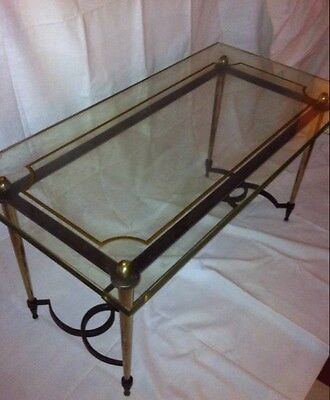 Exceptional Coffee Table Neoclassical Gilbert Poillerat Drawn Par J Adnet