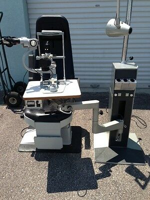 Rodenstock Chair, Reliance Stand, And Zeiss Slit Lamp And Tonometer. Cheap!!