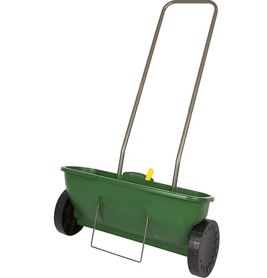Garden Grass Seeder Lawn Spreader Evergreen Fast and Easy Seed Spreading